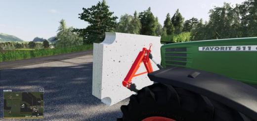 Photo of FS19 – Concrete Homemade Weight V1