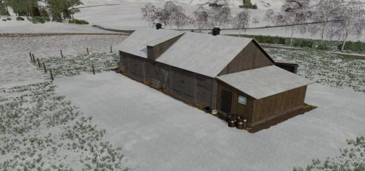 Photo of FS19 – Cows Barn Old V1.0.0.2