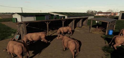 Photo of FS19 – Cows Pasture V1