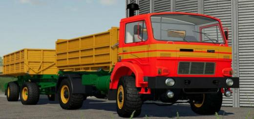 Photo of FS19 – D-754 Truck Pack V1.2