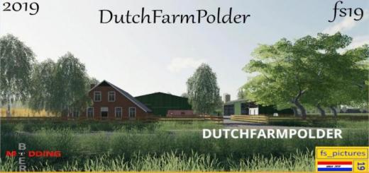 Photo of FS19 – Dutch Farm Polder Map V1