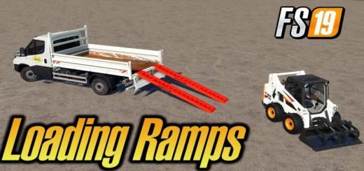 Photo of FS19 – Dynamic Aluminium 4T Loading Ramps With Attacher V1