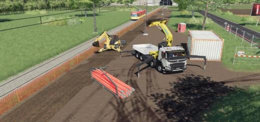 Photo of FS19 – Dynamic Plastic Pipes + Handler V1