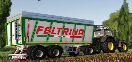 Photo of FS19 – Feltrina Trailer V1.0.1.0