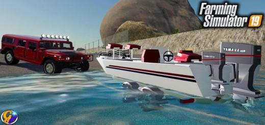 Photo of FS19 – Fishing Boat V1