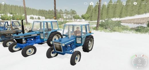 Photo of FS19 – Ford 3600 Tractor V2