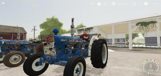 Photo of FS19 – Ford 4000 Euro Tractor V1