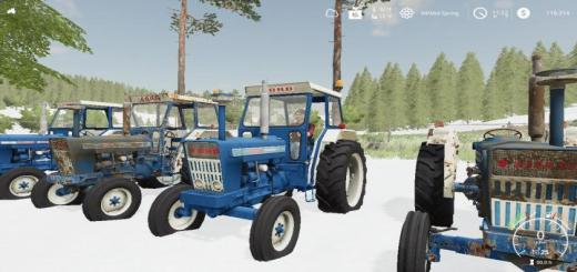 Photo of FS19 – Ford 7000 Euro Tractor V1