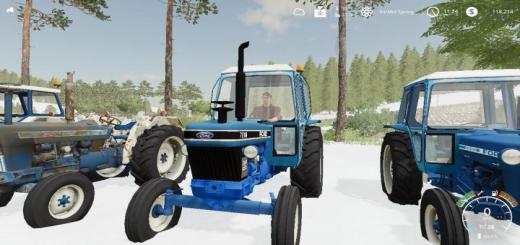 Photo of FS19 – Ford 7610 Iii Tractor V2