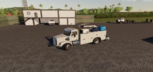 Photo of FS19 – Freightliner Service Truck V0.1