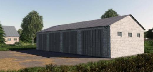 Photo of FS19 – Garage 21 X 10 Meters V1