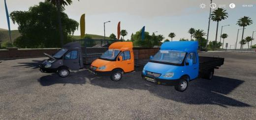 Photo of FS19 – Gaz-3302 Gazelle V2.1