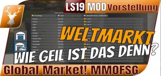 Photo of FS19 – Globalcompany – Globalmarket – Exe V1.2.0.2