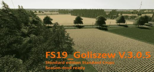Photo of FS19 – Goliszew Standard Edition Standard Crops V3.0.5