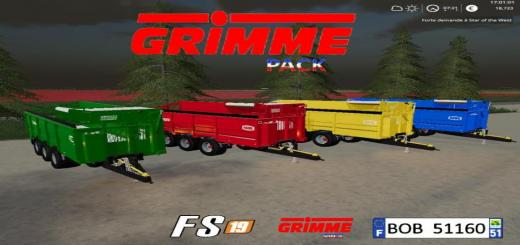 Photo of FS19 – Grimme Pack V1.1
