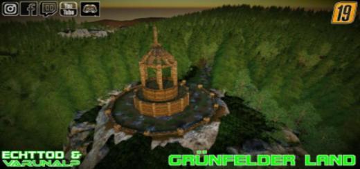 Photo of FS19 – Grunfelder Land Map V1.2 Beta