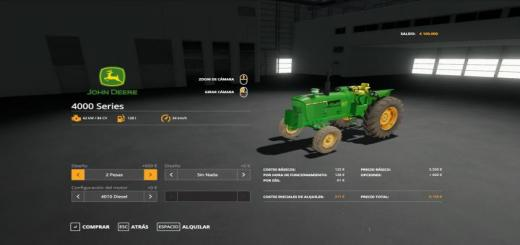 Photo of FS19 – John Deere 4000 Series Esp V1.2