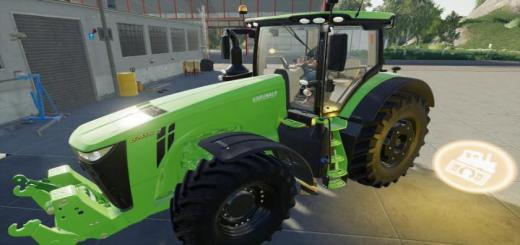 Photo of FS19 – John Deere 8R Tractor V1.0.0.1