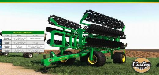 Photo of FS19 – John Deere High Speed Disk V1