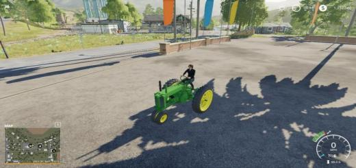 Photo of FS19 – John Deere Unstyled Model A Wip V1