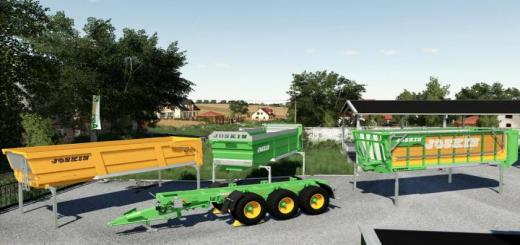 Photo of FS19 – Joskin Cargo Pack V1.1