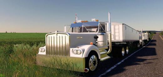 Photo of FS19 – Kenworth W900A Edited V1