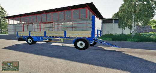Photo of FS19 – Kogel Autoloader Trailer 10M V1