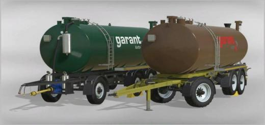 Photo of FS19 – Kotte Garant Tanktrailer V1.5