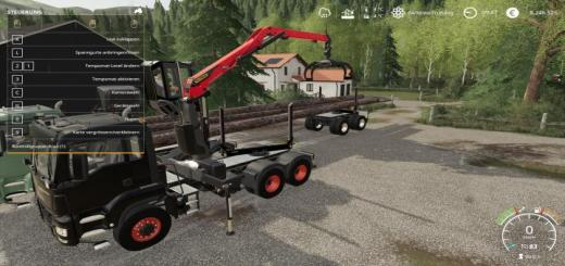 Photo of FS19 – Langholz Lkw V1