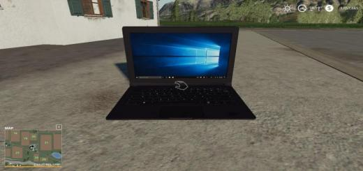 Photo of FS19 – Laptop Pickupable Wip V1