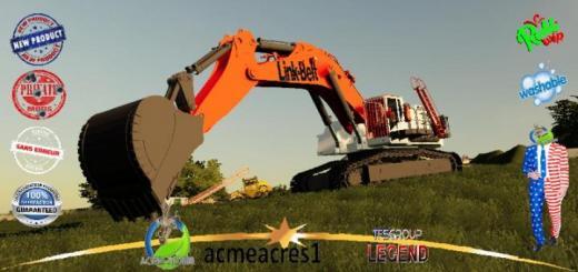 Photo of FS19 – Link Belt Excavator V1.5