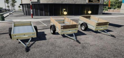 Photo of FS19 – Lizard Car Trailer V1.0.2.0