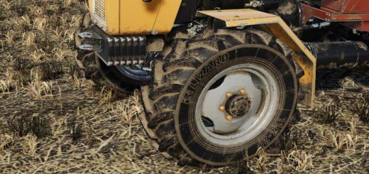 Photo of FS19 – Lizard Tire 11.2/20 (Prefab) V1