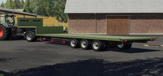 Photo of FS19 – Low Loader V1