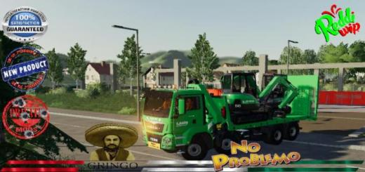 Photo of FS19 – Man Plateau Grue Auxiliaire Laho V2