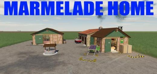 Photo of FS19 –  Marmelade Home V1
