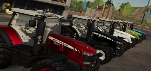 Photo of FS19 – Massey Ferguson 8700 Special V1.0.0.1