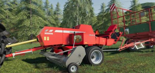 Photo of FS19 – Massey Ferguson Hesston 1840 V1