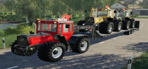 Photo of FS19 – Mercedes-Benz Tractor (Error Fix) V2.1