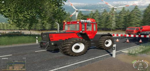 Photo of FS19 – Mercedes-Benz Tractor V2.1