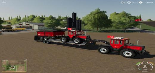 Photo of FS19 – Mercedes-Benz Tractor V2.2.1