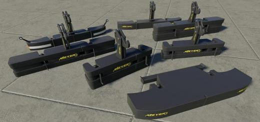 Photo of FS19 – Meyer Weight Package V1