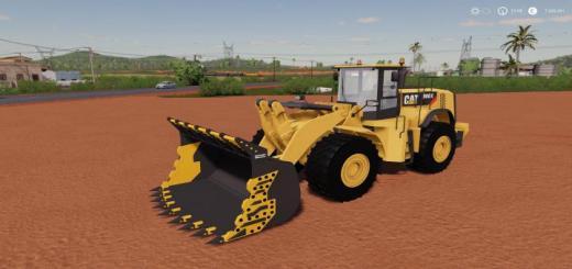 Photo of FS19 – Mining Bucket For 980K Cat Loader V1