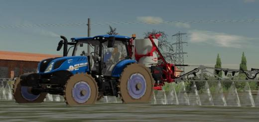 Photo of FS19 – New Holland T6 Riso Tractor V1