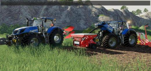 Photo of FS19 – New Holland T7 Hd Tractor V1