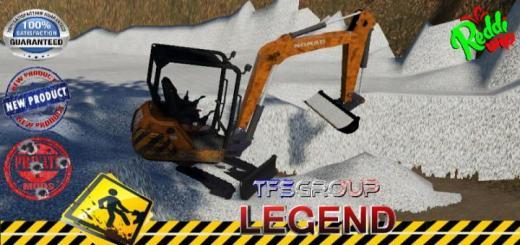 Photo of FS19 – Nomad Mini Excavator Curage V2
