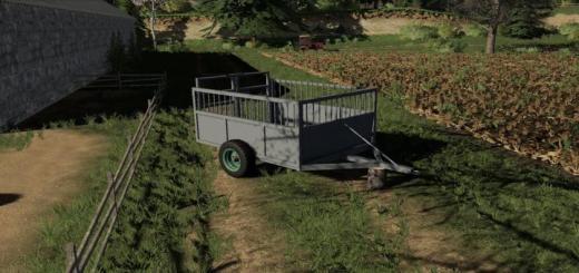 Photo of FS19 – Old Cattle Trailer V1