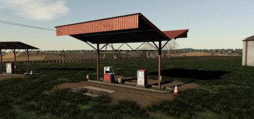 Photo of FS19 – Old Fuel Stations Pack V1