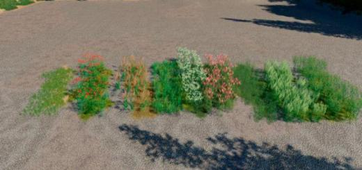 Photo of FS19 – Paint Grass Or Bushes Or Flowers In Game With Landscape Tool V1