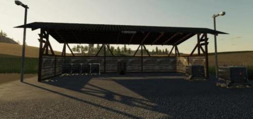 Photo of FS19 – Pellets Pallet Storage V1
